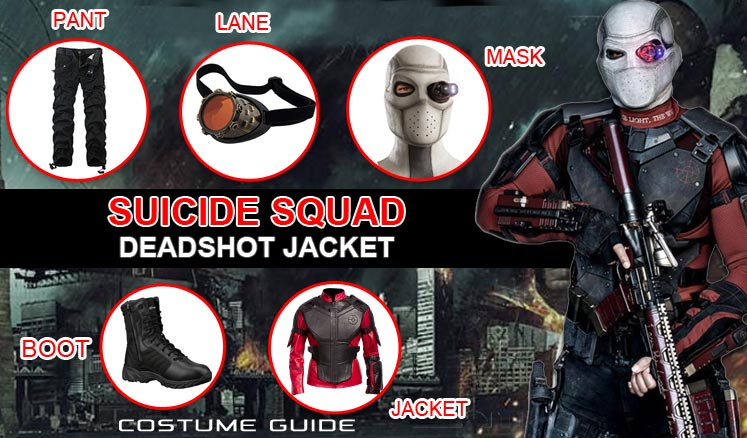 how to make a deadshot mask