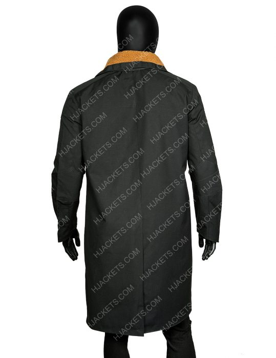 Blade Runner 2049 Officer K Trench Leather Coat