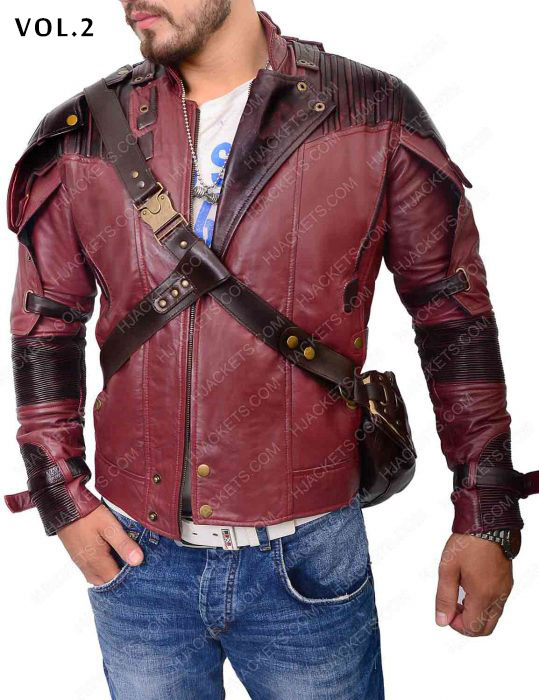 guardians of the galaxy star lord 2 jacket