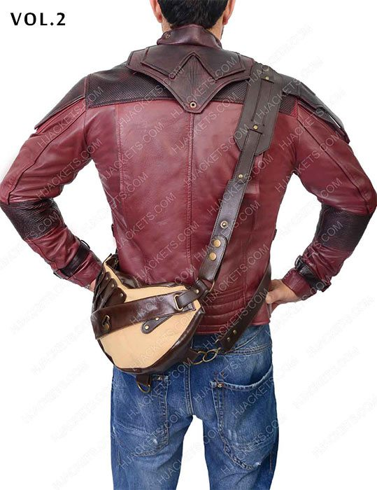 star lord 2 leather jacket