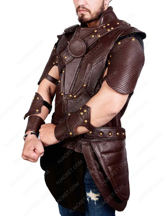 Chris Hemsworth Leather Vest