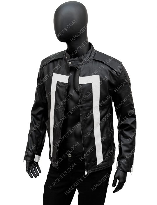 Gabriel LunaGhost RiderRobbie Reyes Leather Jacket