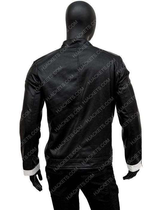 Ghost RiderRobbie Reyes Black Leather Jacket
