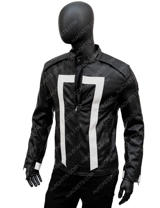 Ghost RiderRobbie Reyes Leather Jacket