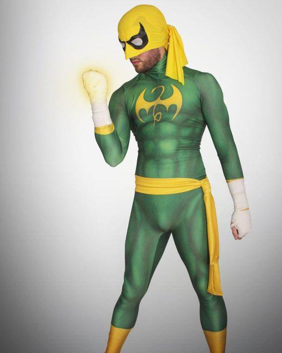 Iron Fist Green Costume