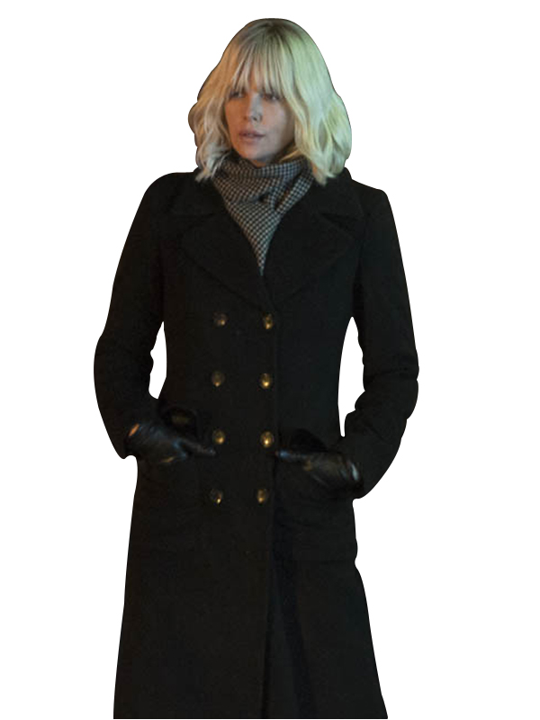 lorraine broughton dark grey coat