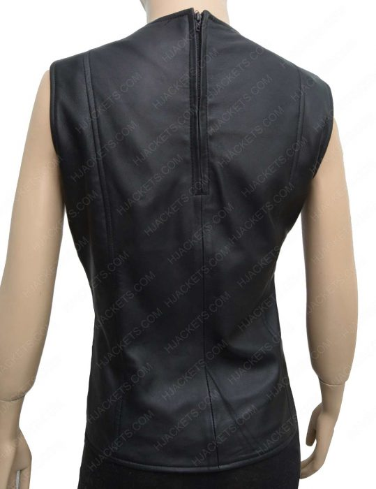 guardians of the galaxy vol 2 gamora leather vest
