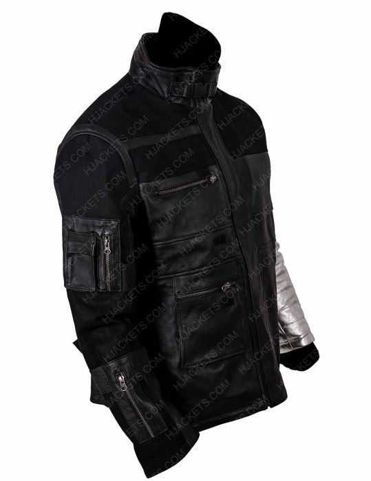 Captain America Winter Soldier Leather Jacket