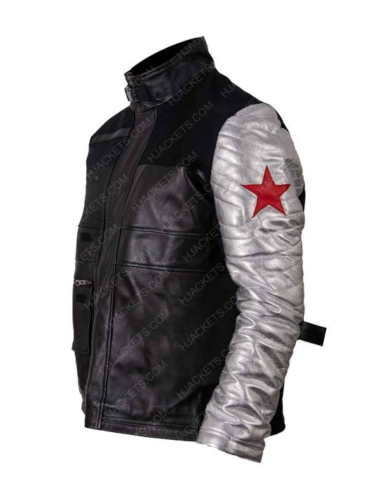 Civil War Captain America Jacket