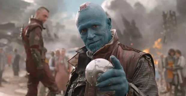 Yondu - the Ravager teams with Star Lord Quill