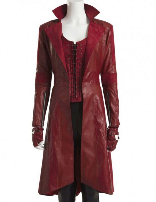 scarlet witch red coat