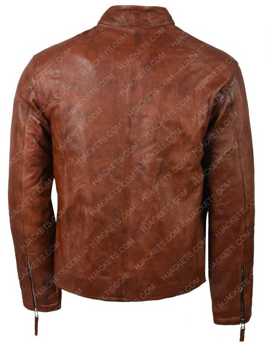 Jim Lee Cyclops Leather Jacket