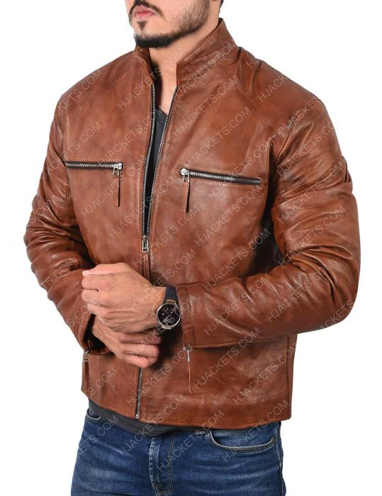 Jim Lee Leather Jacket