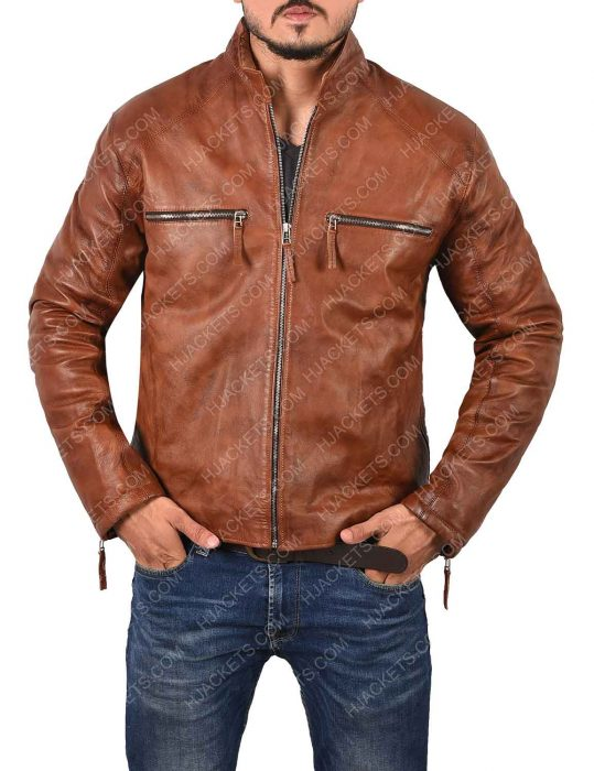 Magnetized Interchangeable Jim Lee Leather Jacket