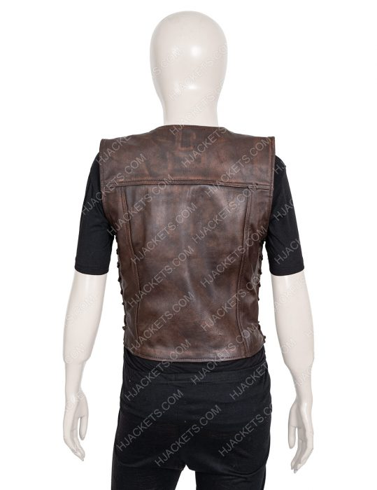 Walking Dead Danai Gurira Leather Vest