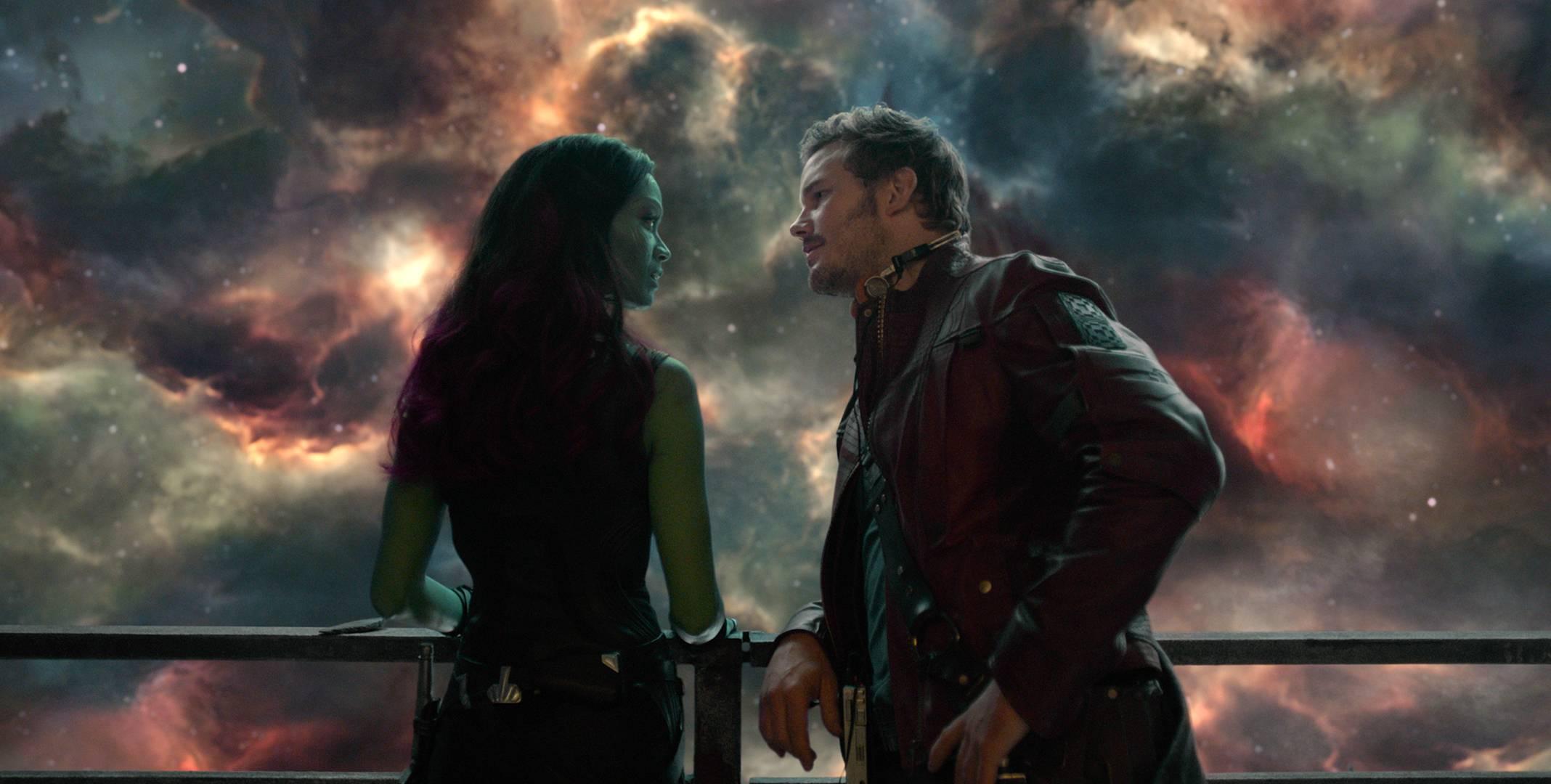 Star Lord's Star-gaze Romance with Gamora