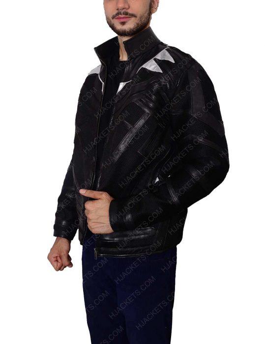 black panther captain america jacket