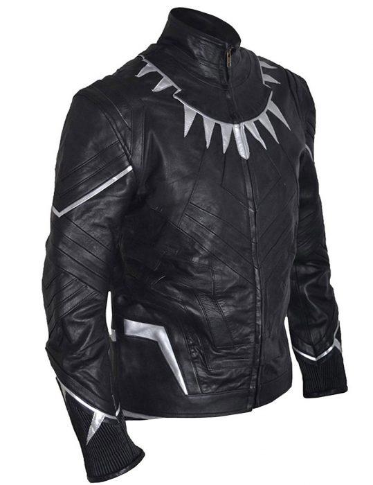 black-panther-chadwick- boseman-leather-jacket