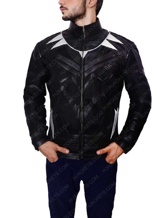 black panther leather jacket