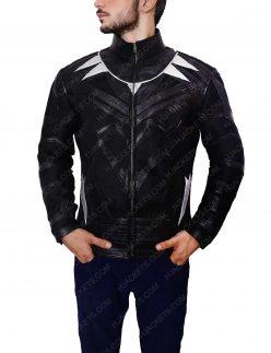 captain america black panther jacket