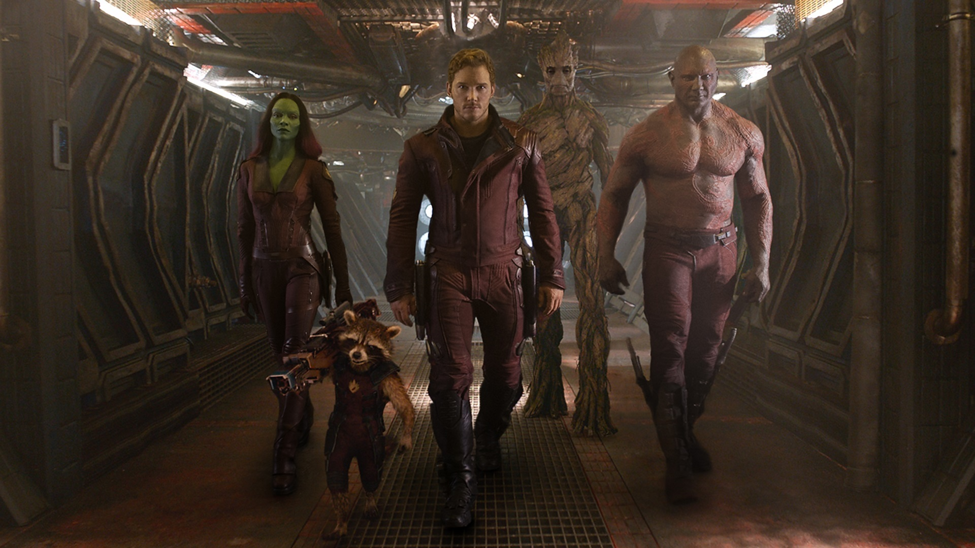 Star Lord Peter Quill's entrance as the Guardian