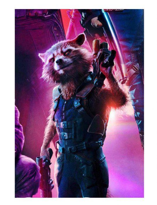 rocket raccoon vest
