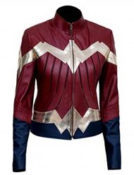 wonder woman leather jackets