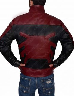 last stand spider man leather jacket