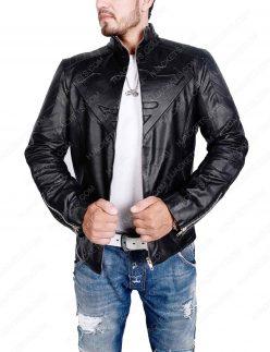 superman-black-leather-jacket