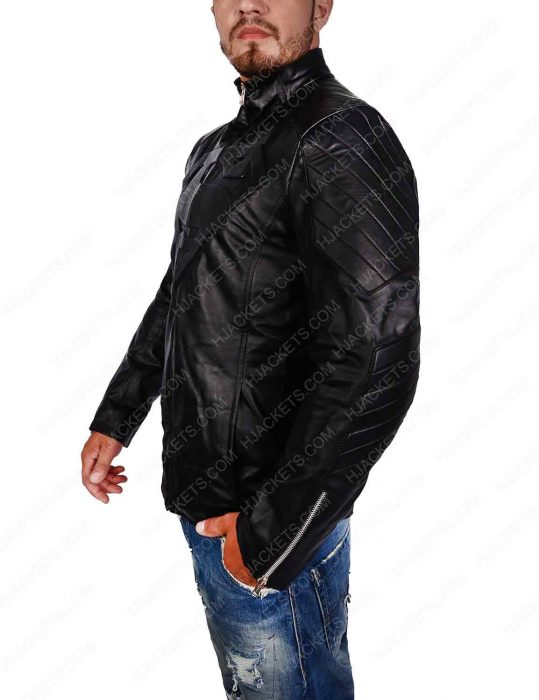 smallville superman black jacket