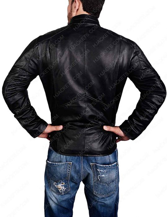 smallville superman leather jacket