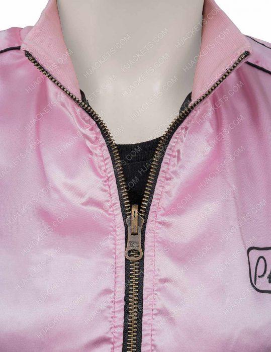 Grease Pink Lady Satin Fabric Jacket