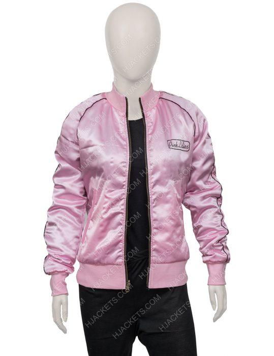 Grease Pink Lady Satin Jacket