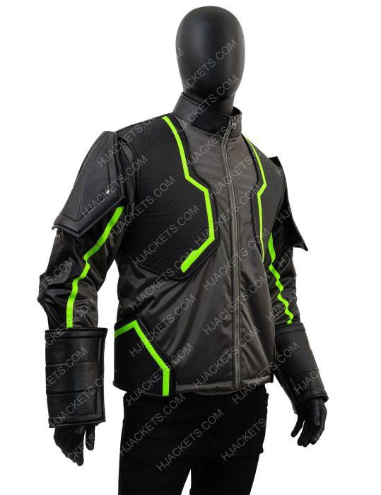 Injustice 2 Bane Leather Jacket