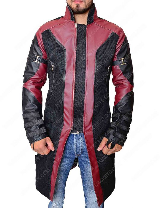 hawkeye avengers age of ultron coat