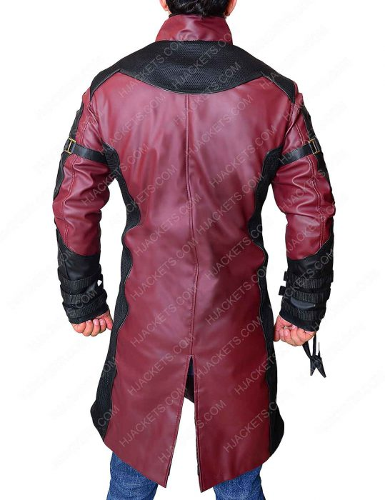 hawkeye leather coat