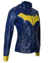 batman arkham knight batgirl jacket
