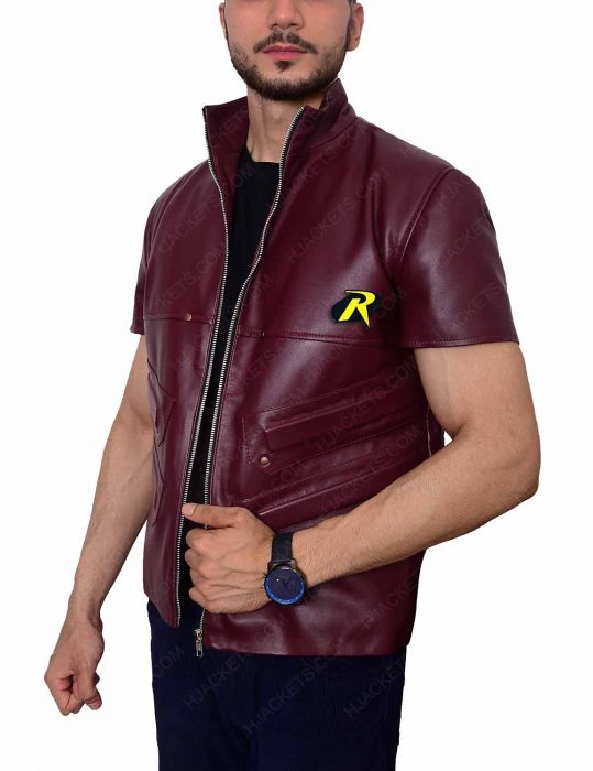 batman-arkham-robin-leather-vest