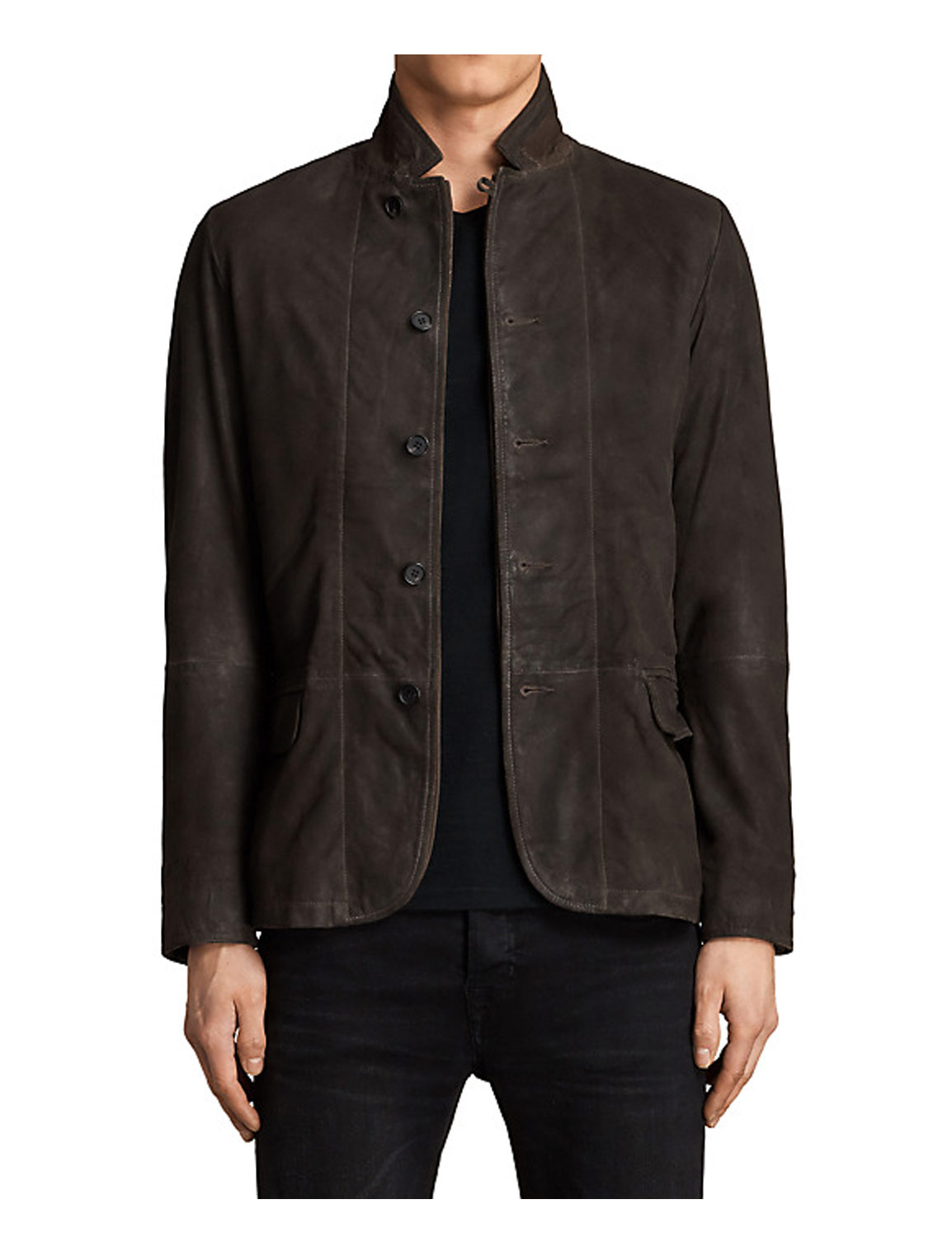 Casual Brown Blazer Jacket for Men