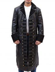 captain hook leather jacket