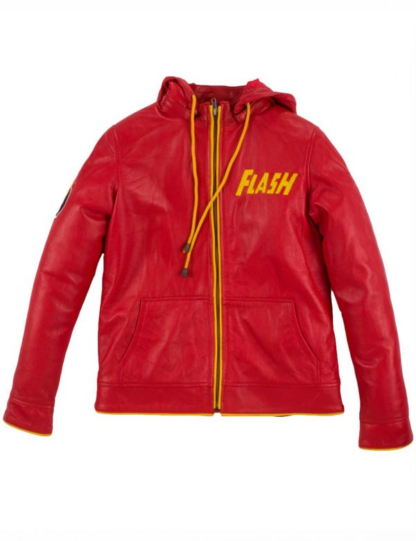 flash-logo-red-hoodie