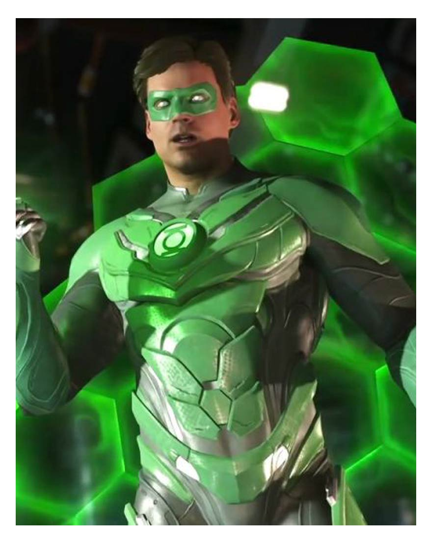 Green Lantern Injustice 2 Jacket | Gaming Outfit - Hjackets