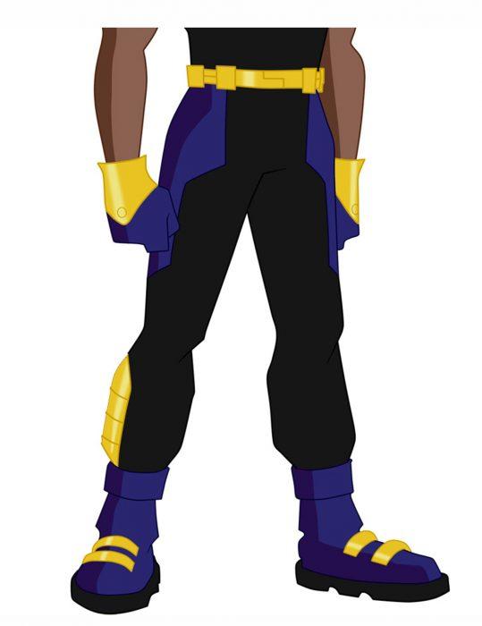 static-shock-costume-pant
