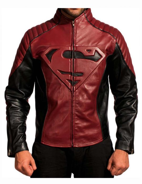 superman-black-and-maroon-jacket