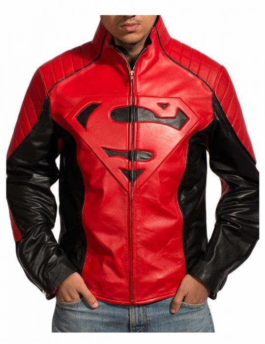 superman-red-black-jacket