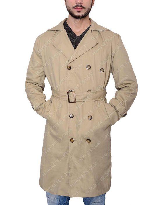 supernatural misha collins trench coat