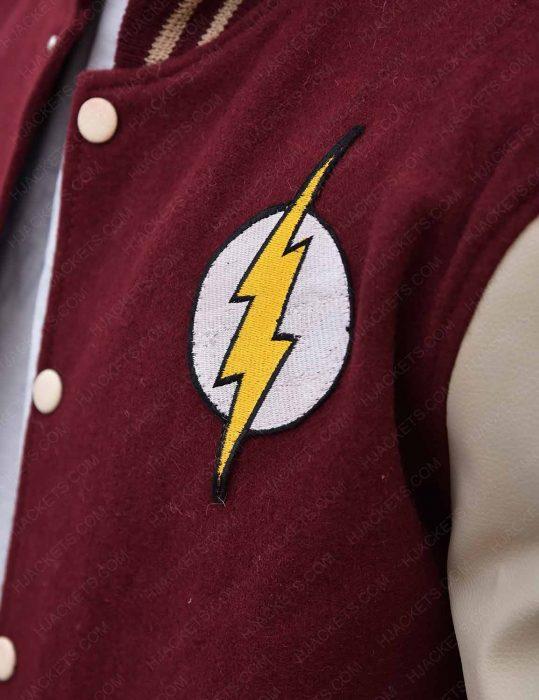 the-flash-varsity-fleece-jacket
