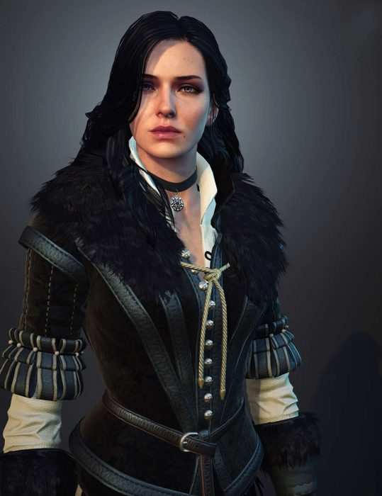 The Witcher 3 Yennefer Leather Vest
