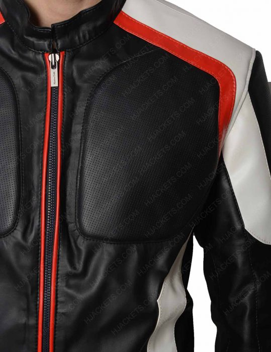arrow mister terrific echo kellum leather jacket