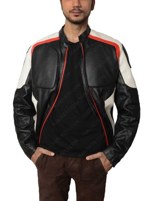 arrow mister terrific leather echo kellum jacket